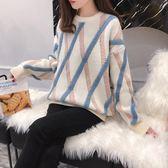 毛衣女新款秋冬套頭寬鬆韓版小清新甜美針織外穿