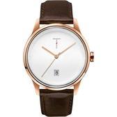 【台南 時代鐘錶 TYLOR】自由探索精神 風格多變時尚腕錶 TLAB004 皮帶 43mm