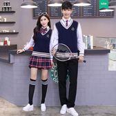 中學生校服套裝學院風韓國秋季班服高中生運動會開幕式校園服裝女