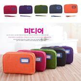韓版 多功能大容量收納包 化妝包 手機包 文具筆袋 零錢包 手機包 皮夾 錢包【RB365】