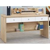 書桌 電腦桌 CV-624-5 安寶耐磨橡木5尺白色抽書桌 (不含其它產品) 【大眾家居舘】