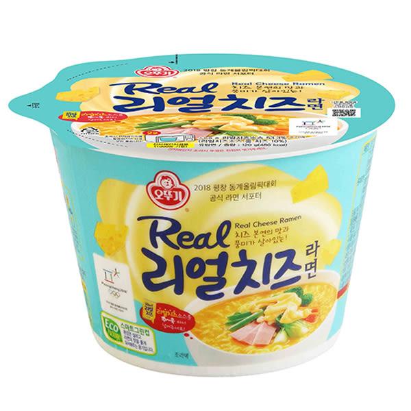 韓國不倒翁 超濃厚起司拉麵120g(碗裝)【小三美日】泡麵/進口/ 團購