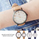 正韓DONBOSCO 命定制約情侶對錶真皮手錶單支~WDB784 ~璀璨之星~