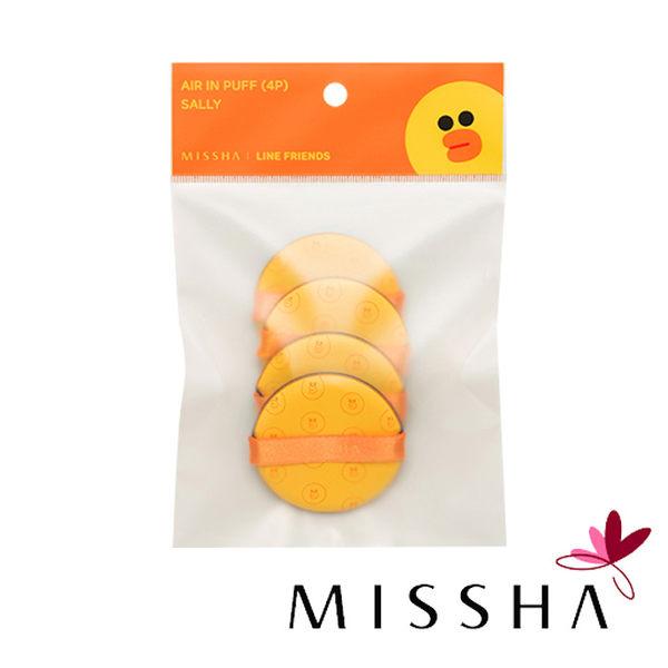 MISSHA × LINE 聯名款 莎莉 粉撲補充包 (4入/包) 氣墊粉餅專用粉撲