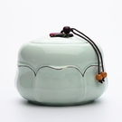 陶瓷茶葉罐 茶具密封儲物罐子 大號瓷器 ...