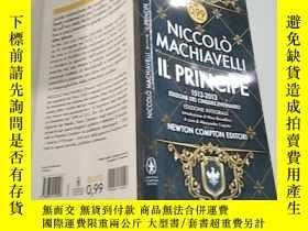 二手書博民逛書店NICCOLO罕見MACHIAVELLI IL PRINCIPE尼科洛·馬基亞維利·普林西比Y351232