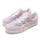 Asics 復古休閒鞋 GSM 粉紫 紫 女鞋 緞帶鞋帶 基本款 【PUMP306】 1182A072404
