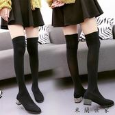 絲襪過膝長靴女靴高筒襪子靴