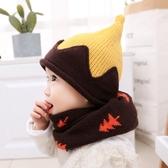 秋冬季男嬰兒針織帽6-12個月護耳兒童毛線帽1一2歲女寶寶帽子冬天