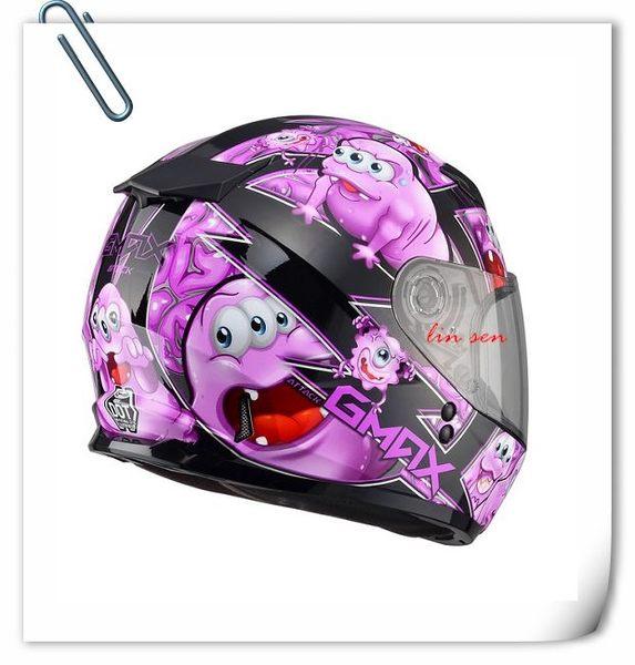 SOL安全帽,GMAX安全帽,49Y,精靈/黑紫