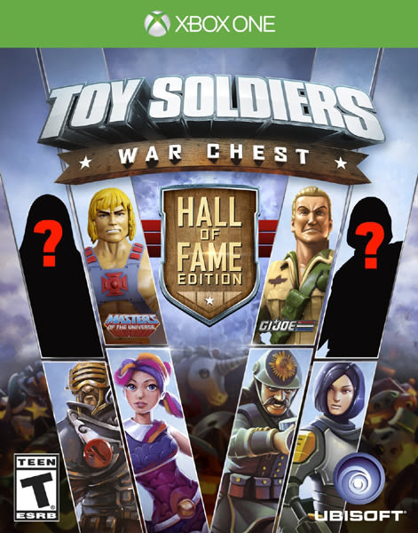X1 Toy Soldiers War Chest Hall of Fame Edition 玩具兵戰爭 名人堂大亂鬥(美版代購)