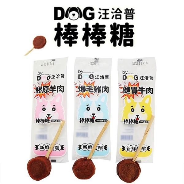 ◆MIX米克斯◆汪洽普 by dog 雙層棒棒糖 20g (三種口味選擇)