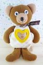 【震撼精品百貨】日本精品百貨~絨毛玩偶-相片熊-深咖啡色-黃
