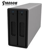 STARDOM ST2-B31 ST2-B31-S 銀色 3.5吋/2.5吋 USB3.1 2bay 磁碟陣列設備