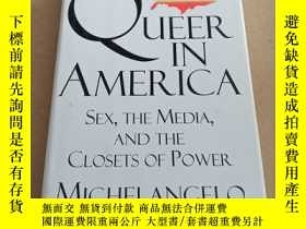 二手書博民逛書店Queer罕見in America: Sex, the Medi