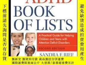 二手書博民逛書店The罕見ADHD Book of Lists: A Practical Guide for Helping Ch