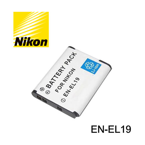 郵寄免運費$170 3C LiFe nikon 尼康 en-el19 電池 enel19 鋰電池 W100 S33 S7000 S6900 A100 適用