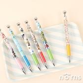 日貨圓珠自動鉛筆 迪士尼v2- Norns 事務文具 玩具總動員 小熊維尼 日本進口正版