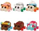 《 Nano Block 迷你積木 》 NBMC_28S mininano天竺鼠車車(一盒6入) / JOYBUS玩具百貨