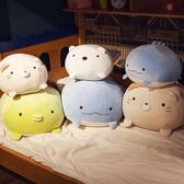 公仔玩偶墻角落生物毛絨玩具睡覺娃娃暖手抱枕超軟懶人可愛插手枕    都市時尚