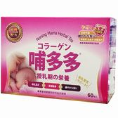 孕哺兒 哺多多經典配方 (健髮配方) 60包入 媽媽飲品 哺乳茶 膠原蛋白