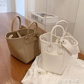 水桶包小包包女流行新款潮時尚百搭單肩小眾設計質感手提水桶包 快速出貨