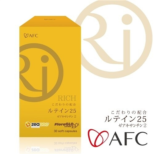 【AFC宇勝淺山】RICH葉黃素30粒/瓶X2瓶(組)