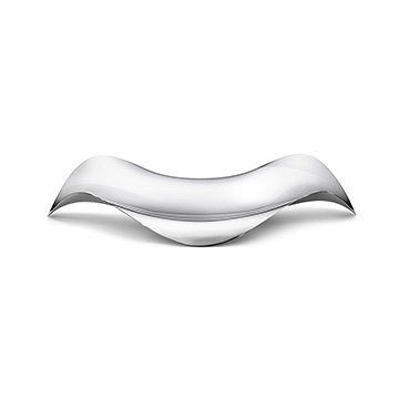 丹麥 Georg Jensen Cobra Oval Serving Tray 婀娜 流線置物托盤