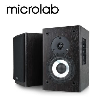 [富廉網] 【Microlab】 B72 書架式 2.0 聲道 二音路多媒體音箱