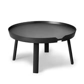 丹麥 Muuto Around Coffee Table 72cm 三角圓塔 木質 咖啡邊桌 大尺寸