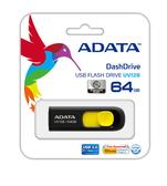 【台中平價鋪】全新 ADATA 威剛 UV128 64GB USB3.0 隨身碟 (黃色)  終生保固