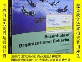 二手書博民逛書店Essentials罕見of Organizational Behavior (Eleventh Edition)