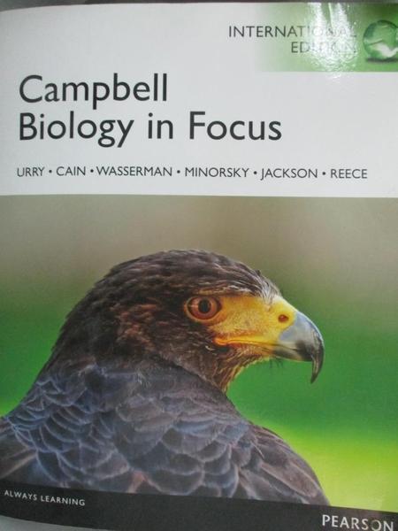 【書寶二手書T1/大學理工醫_QOM】Campbell Biology in Focus_Lisa A. Urry