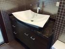 【麗室衛浴】洗臉盆 英國 LIVING 2390 扇型台面盆