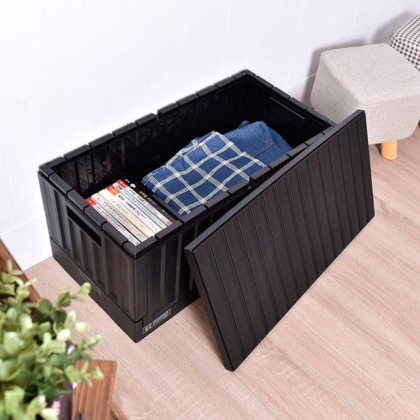 【FB-6432】貨櫃收納椅 二色 樹德MIT台灣製 摺疊籃/收納箱 /箱子/櫃子
