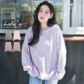 LULUS-D韓製-坑條邊針織上衣-4色  現+預【01052966】