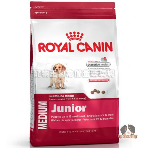 【寵物王國】法國皇家-AM32中型幼犬飼料4kg