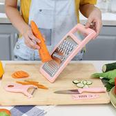 ✭米菈生活館✭【L52-2】多功能刀刨三件套 套裝 刨絲器 擦絲 削皮器 廚房 蔬果刀具 刨刀套裝