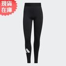 【現貨】Adidas TECHFIT 女裝 長褲 緊身 全長 訓練 健身 中腰 黑【運動世界】GM2986