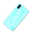 蘋果6/6s X/Xs Xs Max純色創意保護套 蘋果7/8/XR手機殼 鋼化玻璃IPhone 11手機殼 簡約防摔蘋果11手機套