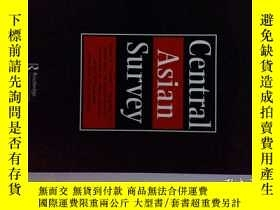二手書博民逛書店Central罕見Asian Survey (Journal)08 2017 中亚调查学术期刊Y14610