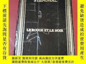二手書博民逛書店stendhal--Le罕見rouge et le noir 紅