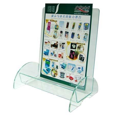 迪多Deflect-o 水晶質感高背目錄架 (A4) 775390 壓克力目錄架/壓克力型錄架