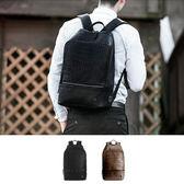 後背包 多功能 皮紋 學生包 旅行包 雙肩包【NLX017】 BOBI  06/08