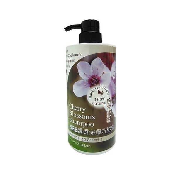 【南紡購物中心】【Timaru 堤瑪露】自然素材系列-櫻花馨香保濕洗髮乳 700ml