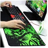 超大滑鼠墊游戲專用LOL粗面大號加長網吧吃雞鍵盤墊桌墊加厚動漫