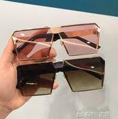 太陽鏡男女潮款大框方形墨鏡復古男士司機開車眼鏡 ciyo黛雅