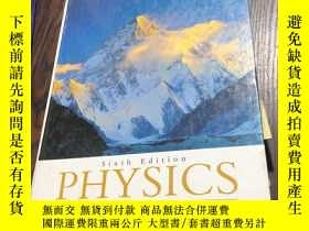 二手書博民逛書店Physics罕見Giancoli Sixth EditionY