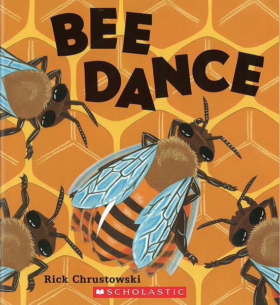 【麥克書店】BEE DANCE/ 平裝繪本《主題: STEM教學--科學 Science  昆蟲》