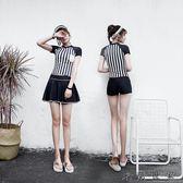 游泳衣女分體顯瘦三件套